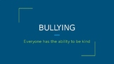 Bullies and Kindness