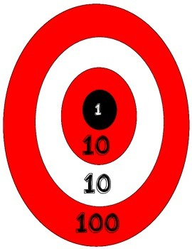 Bulls Eye- A place value game
