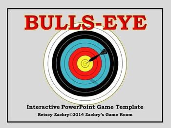 Bulls-Eye Interactive PowerPoint Game Template