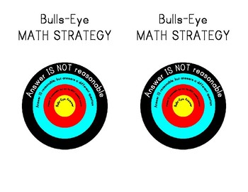 Bulls-Eye Math Strategy