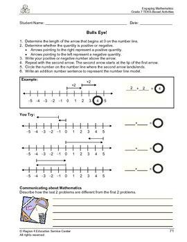 Bulls Eye_Number lines