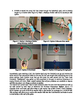 BullsEye Throwing and Catching Game for Physical Education