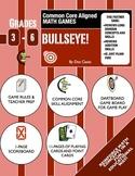 Common Core Aligned Math Games: Bullseye!  A Fun Long Divi