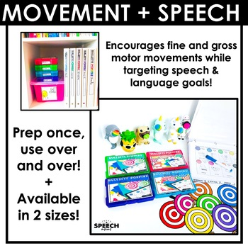 Bullseye Popper Articulation: Low Prep Speech & Language Therapy