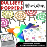 Bullseye Ball Popper Articulation: Speech Therapy Distance