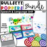 Bullseye Ball Popper BUNDLE : LOW PREP Speech Therapy #sep