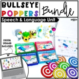Bullseye Ball Popper BUNDLE - Speech Therapy Distance Learning