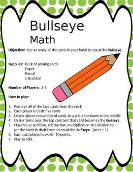 Bullseye Math