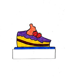 Bulltetin Board Clip Art, Hand Colored and Drawn,Bakery and Baker