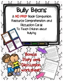 Bully Beans Book Companion Discussion Cards Resource with