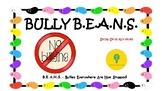 Bully Beans Social Skills Activities about Bulliying