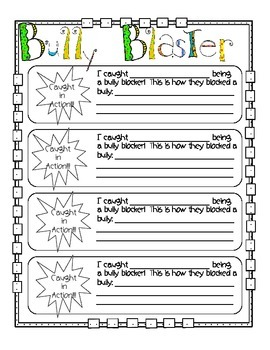 Bully Blaster - Classroom Set to help put an end to Bullying