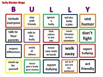 Bully Bingo