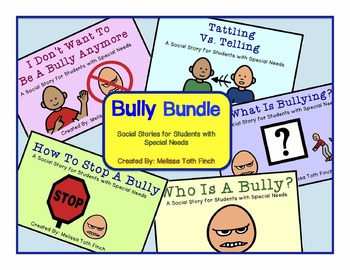 Bully Bundle- Social Stories for Students with Special Needs