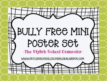 Bully Free Mini Poster Set