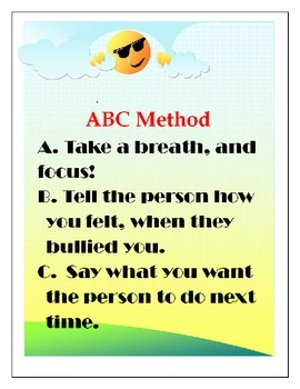 Bully-Free Plan and the ABC Method