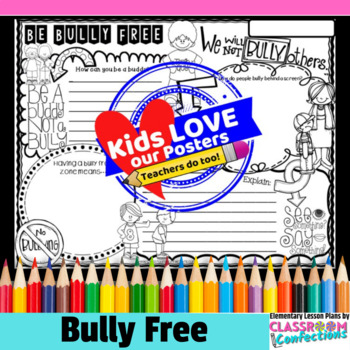 Bully Free Activity Poster