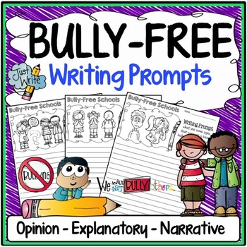 Writing Prompts for the Topic of Bullying