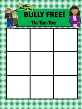 Bully Free Tic-Tac-Toe