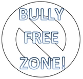 Bully Free Zone BIG poster ~FREEBIE~