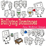 Bully Issues and Dominoes Clipart