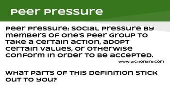 Character Education-Bullying/Peer Pressure