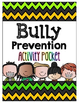 Bully Prevention Activity Packet