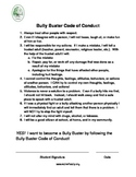 Bully Prevention Conduct Guide