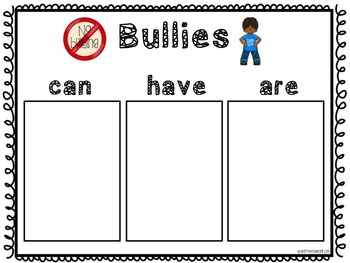 Bully Prevention Pack for Primary Grades