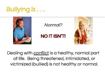 Bully Prevention Powerpoint