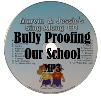 Bully Proofing Our School Song - MP3, Lyrics, & Coloring Page