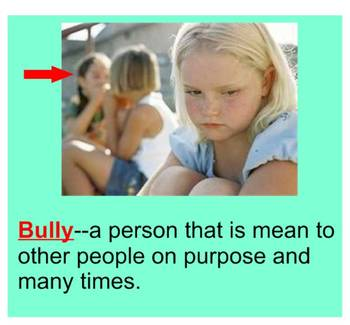 Bully  What is a bully?  with the book The Ant Bully