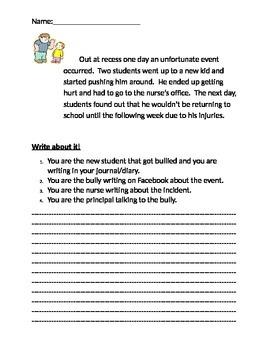 Bully Writing