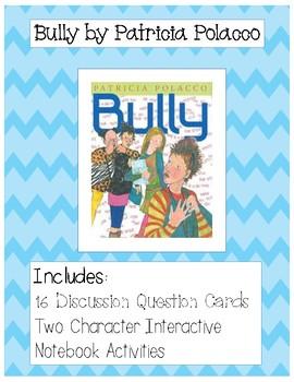 Bully by Patricia Polacco Freebie