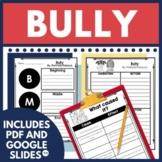 Bully by Patricia Polacco Book Companion in Digital and PDF