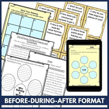 Bully by Patricia Polacco Book Companion in Digital and PDF | Distance Learning