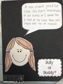 Bully or Buddy?  Interactive Bulletin Board Activity