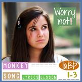Song - don't worry! w/ lesson, lyrics