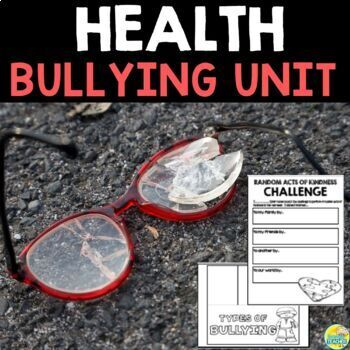 Bullying Unit for Middle School