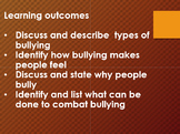 Bullying (presentation/worksheets)