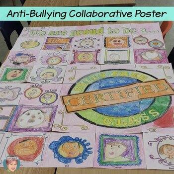 Anti-Bullying Classroom Collaborative Poster