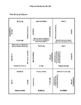 Bullying  9 Square