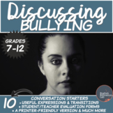 Bullying- Conversation Starters