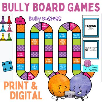 Bullying Activities Board Game