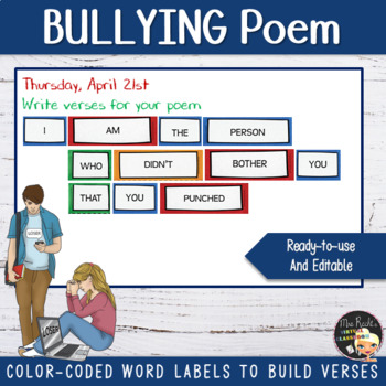 Bullying Activities Vocabulary and Grammar