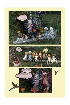 What is Bullying?  Comic Book - Season Faeries - Sally's Story