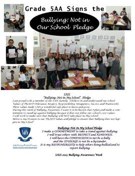 Bullying Awareness Week- Anti bullying Activities & Lessons