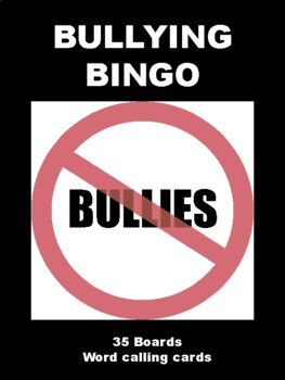 Bullying BINGO!