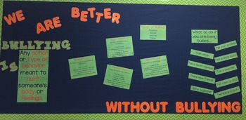 Bullying Bulletin Board
