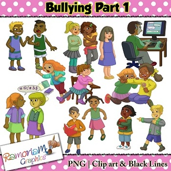 Bullying Clip art